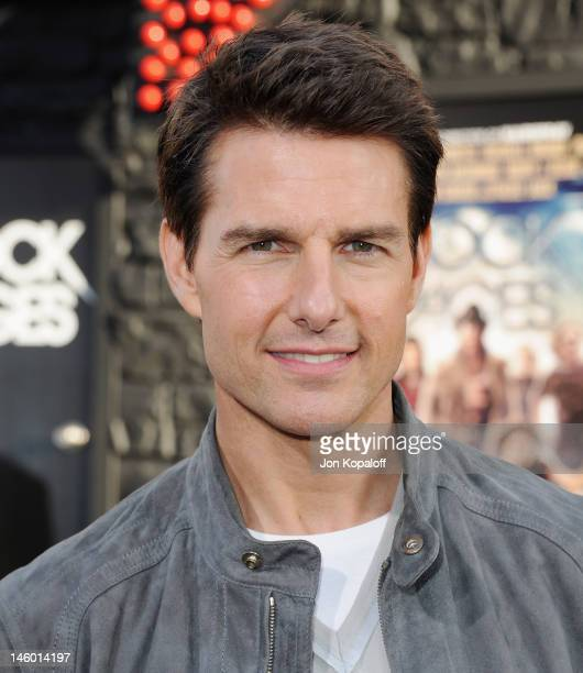Actor Tom Cruise arrives at the Los Angeles Premiere Rock Of Ages at Grauman's Chinese Theatre on June 8 2012 in Hollywood California