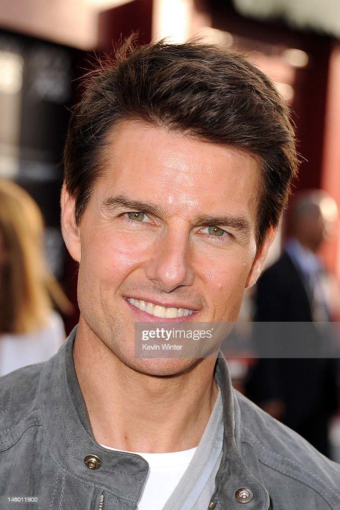 Actor Tom Cruise arrives at the premiere of Warner Bros. Pictures' 'Rock of Ages' at Grauman's Chinese Theatre on June 8, 2012 in Hollywood, California.