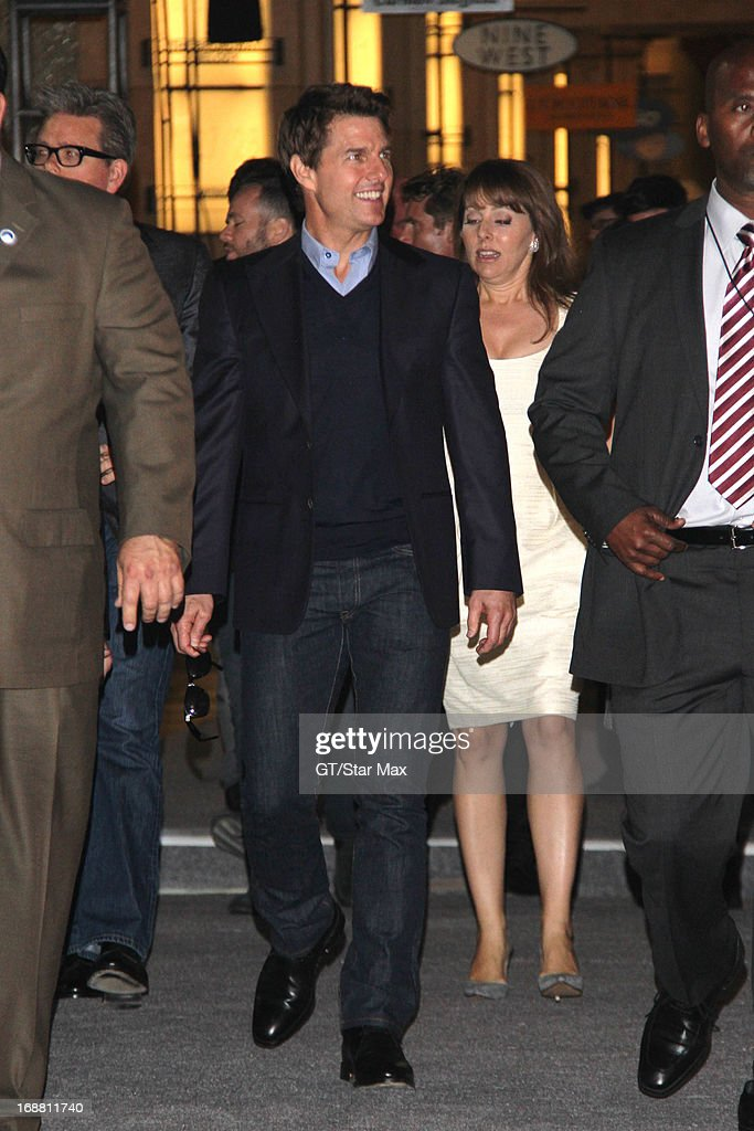 Actor Tom Cruise as seen on May 14, 2013 in Los Angeles, California.