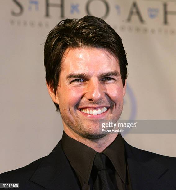 Actor Tom Cruise attends the 5th Annual Ambassadors for Humanity Dinner Honoring former President Bill Clinton to support the Survivors of the Shoah...