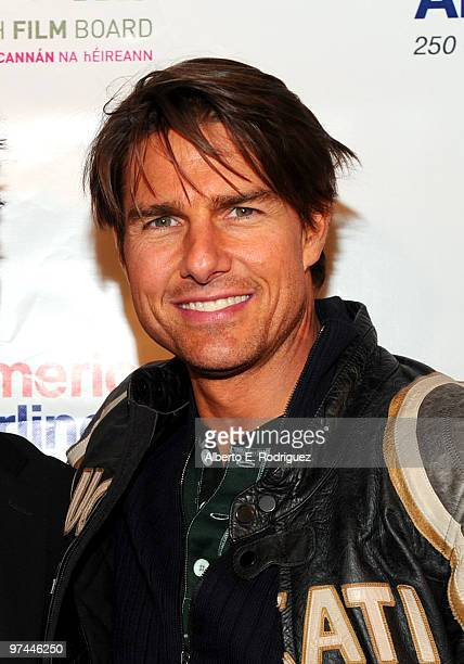 Actor Tom Cruise attends the 5th Annual 'Oscar Wilde Honoring The Irish In Film' held at the Wilshire Ebell Theatre on March 4 2010 in Los Angeles...