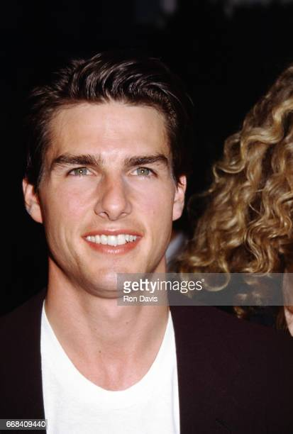 Actor Tom Cruise attends the 'Far and Away' Beverly Hills Premiere on May 20 1992 at the Academy Theatre in Beverly Hills California
