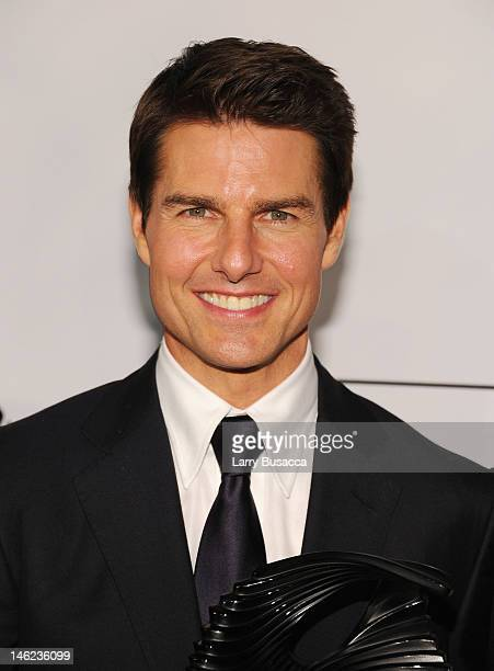 Actor Tom Cruise attends The Friars Club and Friars Foundation Honor of Tom Cruise at The Waldorf=Astoria on June 12 2012 in New York City