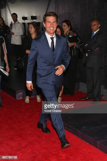 Actor Tom Cruise attends 'The Mummy' Mexico City premiere at Plaza Carso on June 5 2017 in Mexico City Mexico