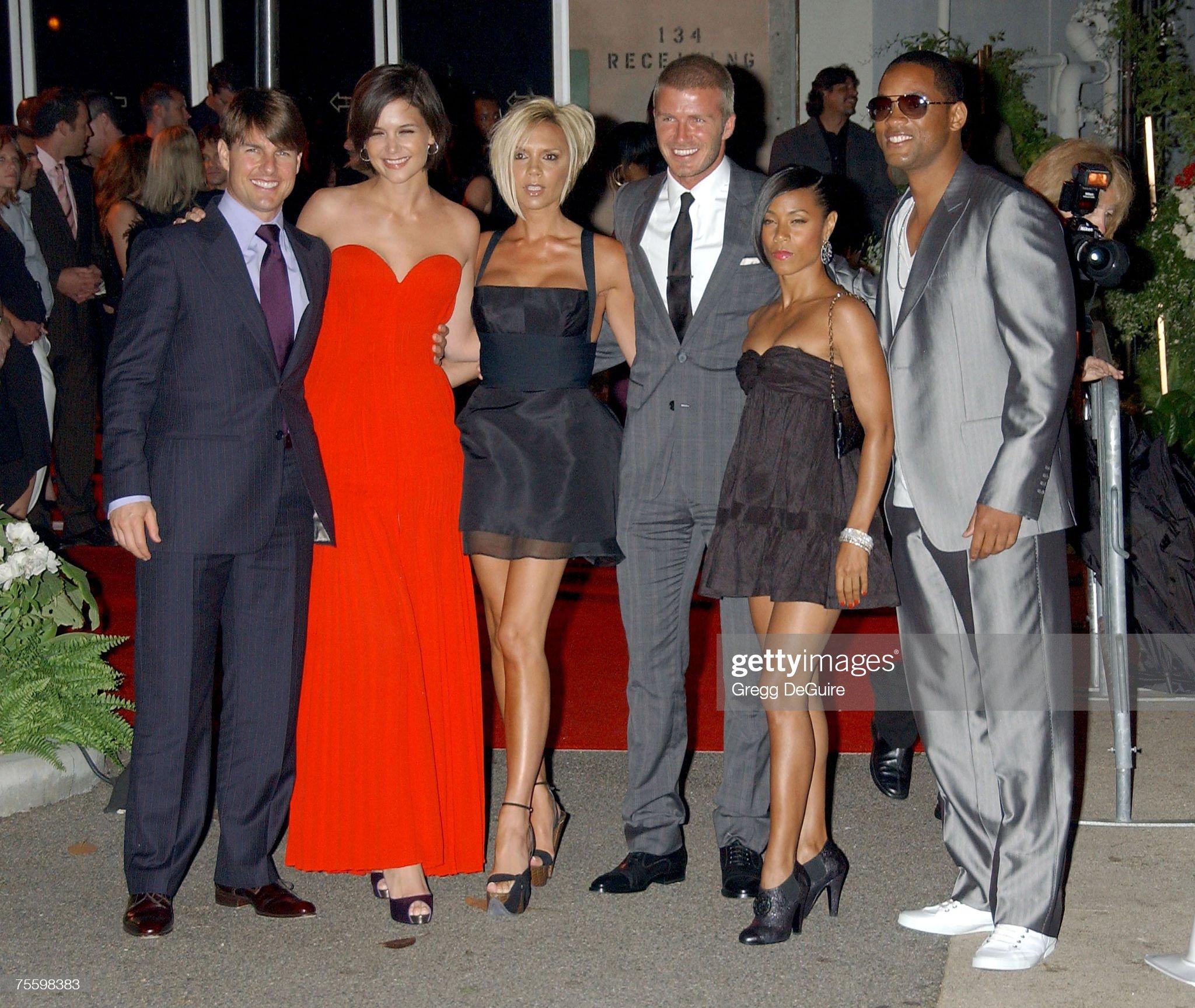 ¿Cuánto mide David Beckham? - Altura - Real height Actor-tom-cruise-katie-holmes-victoria-beckham-david-beckham-jada-picture-id75598383?s=2048x2048