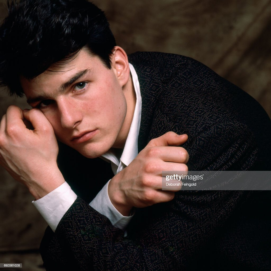 Actor Tom Cruise poses for a portrait in 1985 in Chicago Illinois.