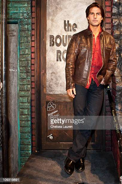 Actor Tom Cruise visits Rock of Ages at the Pantages Theatre on February 19 2011 in Hollywood California