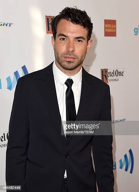 Actor Tom Cullen attends the 25th Annual GLAAD Media Awards at The Beverly Hilton Hotel on April 12 2014 in Los Angeles California
