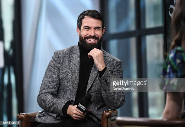 Actor Tom Cullen attends the Build Series to discuss the new History channel show 'Knightfall' at Build Studio on December 5 2017 in New York City