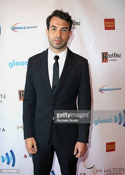 Actor Tom Cullen attends the VIP Red Carpet Suite hosted by Ketel One Vodka at the 25th Annual GLAAD Media Awards on April 12 2014 in Beverly Hills...