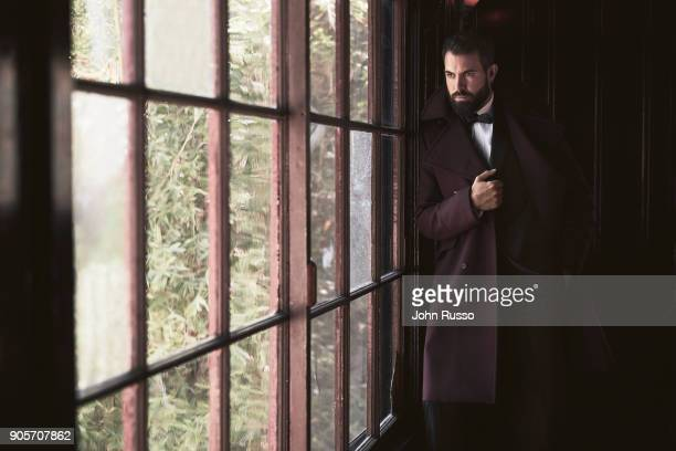Actor Tom Cullen is photographed for Nobleman Magazine on September 13 2017 in Los Angeles California PUBLISHED IMAGE