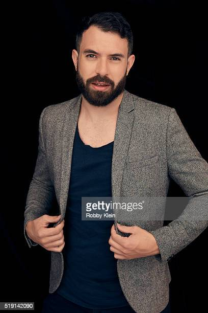 Actor Tom Cullen is photographed for The Wrap on March 13 2016 in Austin Texas