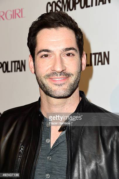 Actor Tom Ellis attends Cosmopolitan's 50th Birthday Celebration at Ysabel on October 12, 2015 in West Hollywood, California.