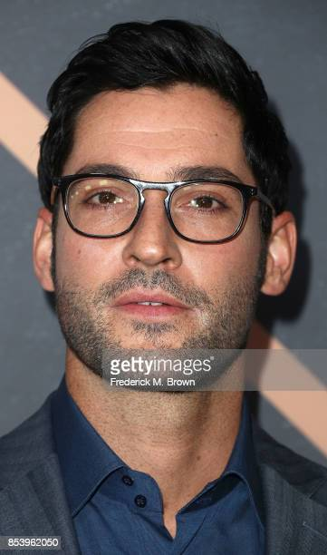 Actor Tom Ellis attends FOX Fall Party at Catch LA on September 25 2017 in West Hollywood California