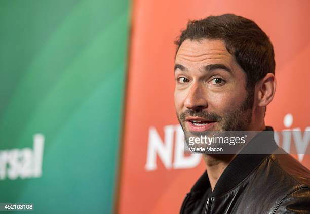 Actor Tom Ellis attends NBCUniversal's 2014 Summer TCA Tour - Day 1 at The Beverly Hilton Hotel on July 13, 2014 in Beverly Hills, California.
