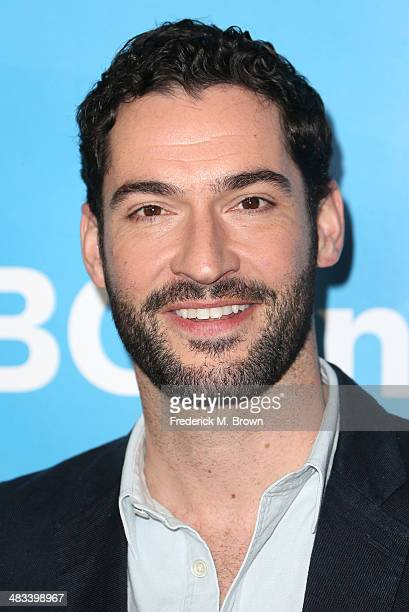 Actor Tom Ellis attends NBCUniversal's Summer Press Day at The Langham Huntington Hotel and Spa on April 8, 2014 in Pasadena, California.