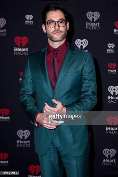 Actor Tom Ellis attends the 2017 iHeartRadio Canada Jingle Ball at the Air Canada Centre on December 9 2017 in Toronto Canada