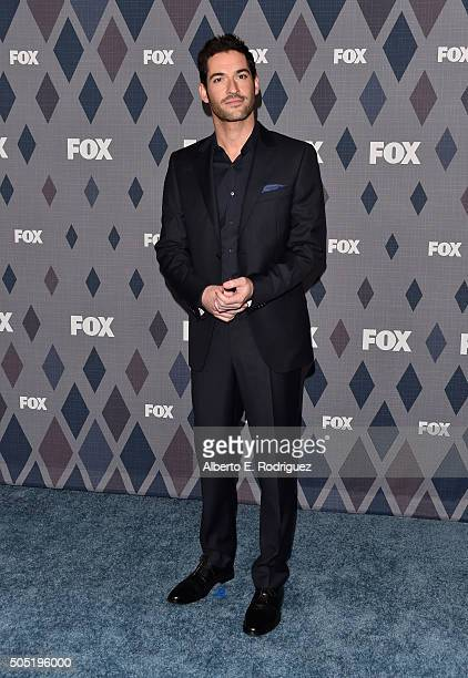 Actor Tom Ellis attends the FOX Winter TCA 2016 All-Star Party at The Langham Huntington Hotel and Spa on January 15, 2016 in Pasadena, California.