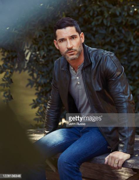 Actor Tom Ellis is photographed for Gio Journal on July 2, 2020 in Los Angeles, California.