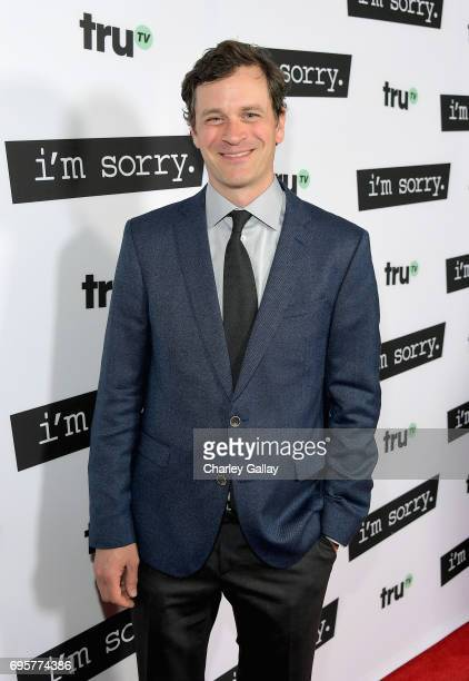 """Actor Tom Everett Scott at the premiere screening of truTV's new scripted comedy """"I'm Sorry"""" at the SilverScreen Theater at the Pacific Design Center..."""