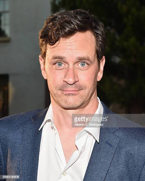Actor Tom Everett Scott attends the premiere of Lifetime's 'Sister Cities' at Paramount Theatre on August 31 2016 in Hollywood California