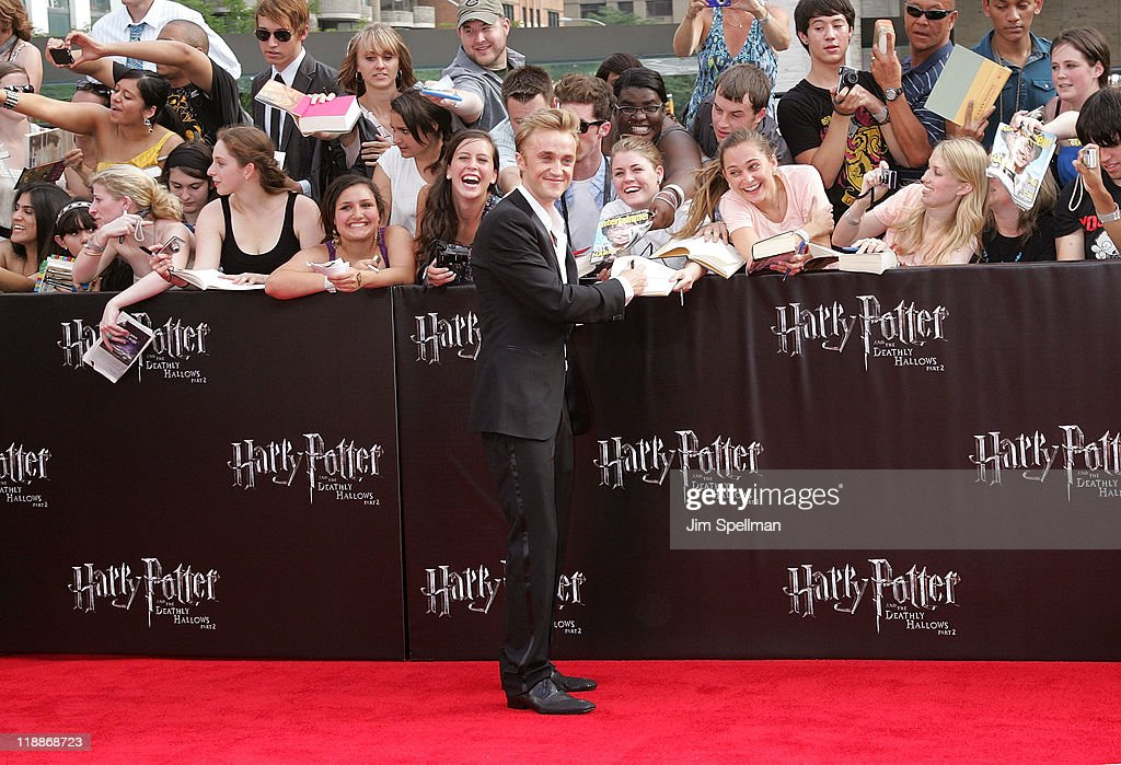 """Harry Potter And The Deathly Hallows - Part 2"" New York Premiere - Outside Arrivals"