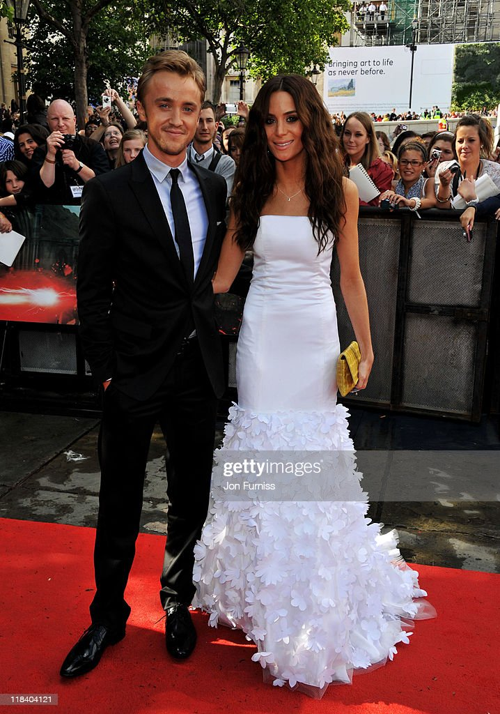 Actor Tom Felton And Jade Gordon Attend The Harry Potter And The News Photo Getty Images