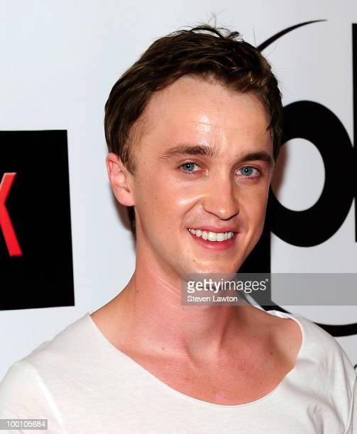 Actor Tom Felton arrives for a screening of Universal Pictures 'Get Him to the Greek' at Planet Hollywood Resort and Casino on May 20 2010 in Las...