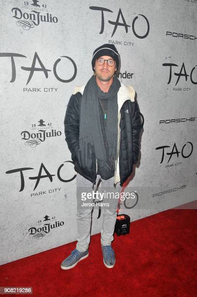 Actor Tom Felton attends TAO Park City Presented by Tinder and Tequila Don Julio at TAO Park City on January 20 2018 in Park City Utah