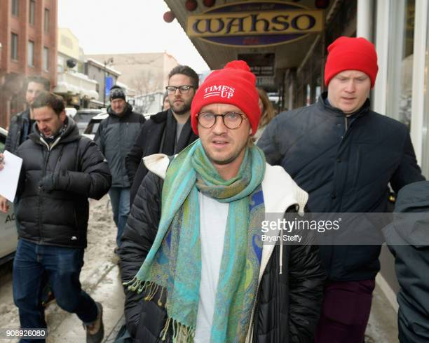 Actor Tom Felton attends the 2018 Sundance Film Festival on January 22 2018 in Park City Utah