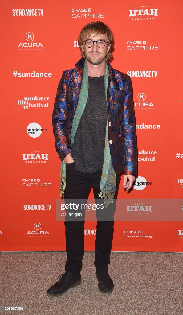 Actor Tom Felton attends the 'Ophelia' Premiere during 2018 Sundance Film Festival at Eccles Center Theatre on January 22, 2018 in Park City, Utah.
