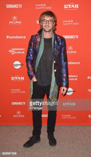 Actor Tom Felton attends the 'Ophelia' Premiere during 2018 Sundance Film Festival at Eccles Center Theatre on January 22 2018 in Park City Utah