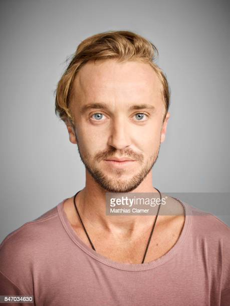 Actor Tom Felton from 'The Flash' is photographed for Entertainment Weekly Magazine on July 23 2016 at Comic Con in the Hard Rock Hotel in San Diego...