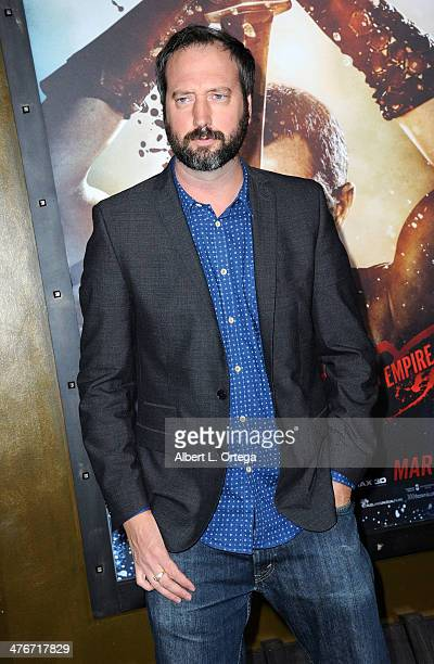 Actor Tom Green arrives for the Premiere Of Warner Bros Pictures And Legendary Pictures' '300 Rise Of An Empire' held at TCL Chinese Theatre on March...