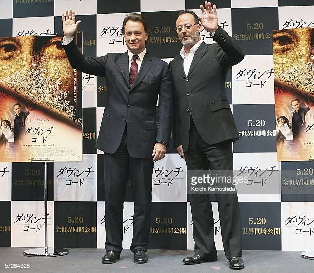 ¿Cuánto mide Tom Hanks? - Altura - Real height - Página 2 Actor-tom-hanks-and-actor-jean-reno-attend-a-press-conference-a-new-picture-id57264928?s=612x612