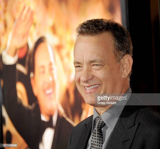 Actor Tom Hanks arrives at AFI FEST 2013 Opening Night Gala premiere of Saving Mr Banks at TCL Chinese Theatre on November 7 2013 in Hollywood...