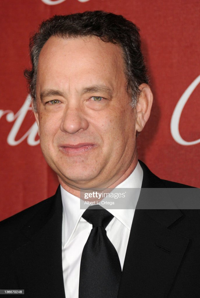 Actor Tom Hanks arrives for The 2012 Palm Springs International Film Festival Awards Gala held at the Palm Springs Convention Center on January 7, 2012 in Palm Springs, California.