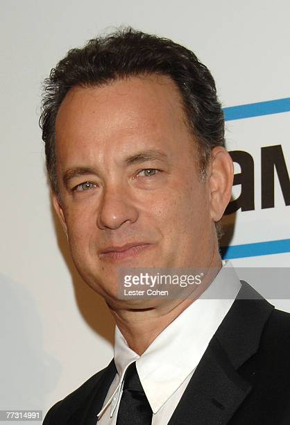 Actor Tom Hanks at The 22nd Annual American Cinematheque Award at the Beverly Hilton Hotel on October 12 2007 in Beverly Hills California