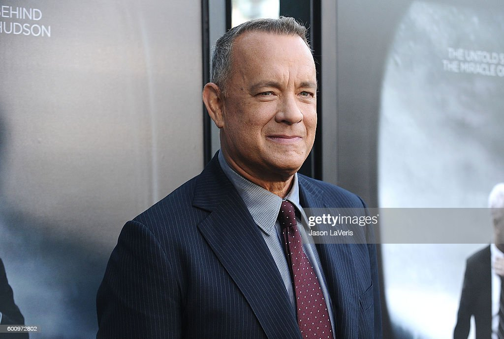 Actor Tom Hanks attends a screening of 'Sully' at Directors Guild Of America on September 8, 2016 in Los Angeles, California.