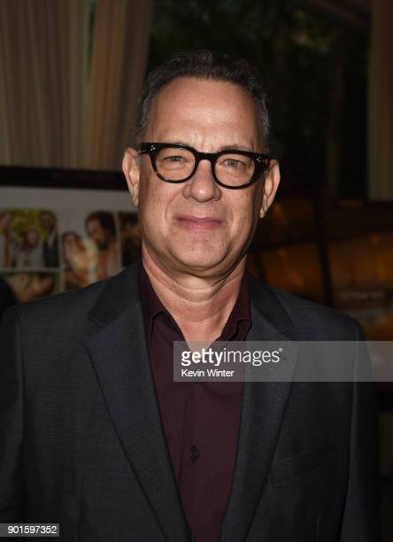 Actor Tom Hanks attends the 18th Annual AFI Awards at Four Seasons Hotel Los Angeles at Beverly Hills on January 5 2018 in Los Angeles California