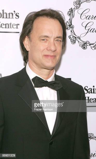 Actor Tom Hanks attends the 2005 Saint John's Health Center Gala Caritas Award where Tom Hanks and Rita Wilson were honored at the Beverly Wilshire...
