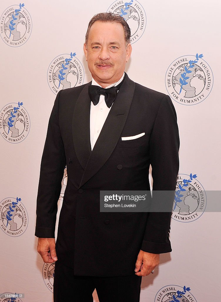 Actor Tom Hanks attends the 2012 Arts For Humanity Gala at New York Public Library on October 17, 2012 in New York City.
