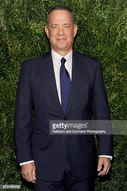 Actor Tom Hanks attends the 2016 Museum Of Modern Art Film Benefit presented by Chanel A Tribute To Tom Hanks at Museum of Modern Art on November 15...