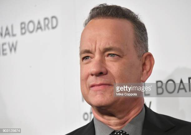 Actor Tom Hanks attends the 2018 The National Board Of Review Annual Awards Gala at Cipriani 42nd Street on January 9, 2018 in New York City.