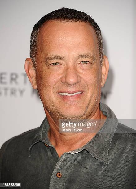 Actor Tom Hanks attends the 23rd annual Simply Shakespeare benefit reading of The Two Gentlemen of Verona at The Eli and Edythe Broad Stage on...