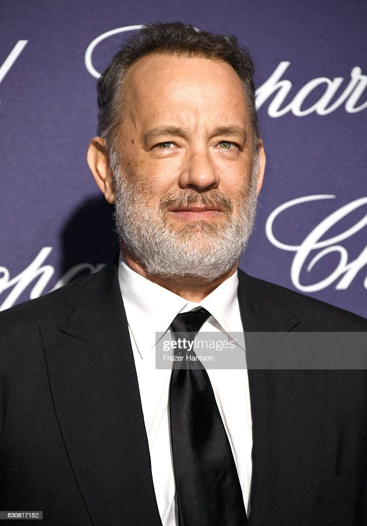 Actor Tom Hanks attends the 28th Annual Palm Springs International Film Festival Film Awards Gala at the Palm Springs Convention Center on January 2, 2017 in Palm Springs, California.