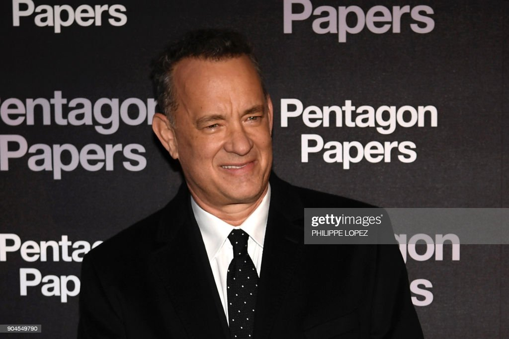 FRANCE-US-CINEMA-PENTAGON PAPERS-THE POST : News Photo