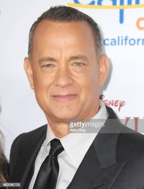 Actor Tom Hanks attends the premiere of 'Saving Mr Banks' on December 9 2013 at Walt Disney Studios in Burbank California