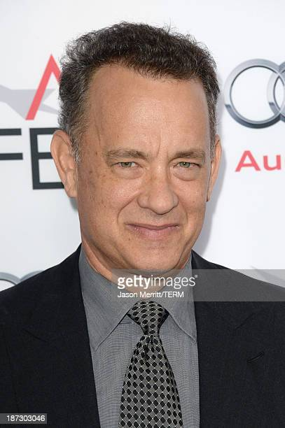 Actor Tom Hanks attends the premiere of Walt Disney Pictures' Saving Mr Banks during AFI FEST 2013 presented by Audi at TCL Chinese Theatre on...