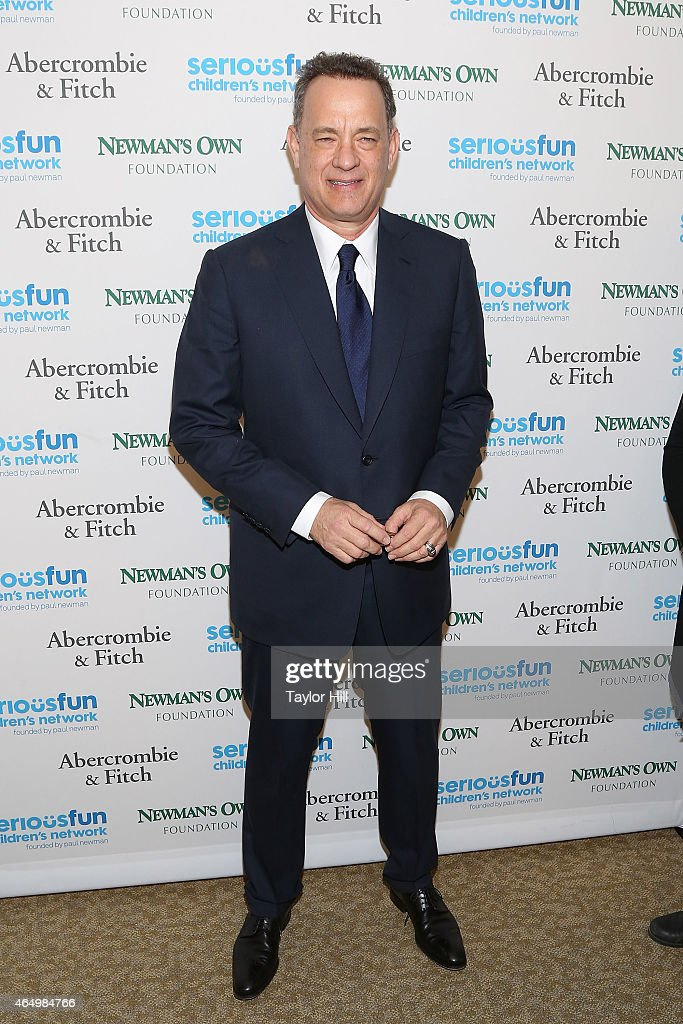 Actor Tom Hanks attends the SeriousFun Children's Network's New York City Gala at Avery Fisher Hall on March 2, 2015 in New York City.